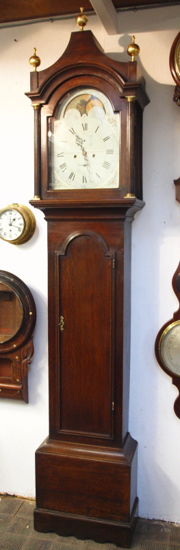 Longcase Clock by William Bayford