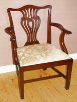 georgian elbow chair