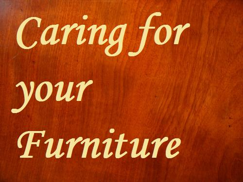 Antique furniture care